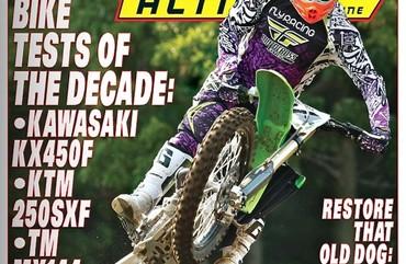 MXA Cover 2012
